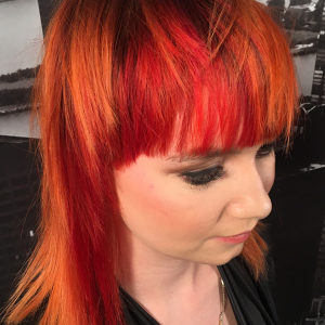 Hair Affair 2017: Sunset Edge Hair Colour