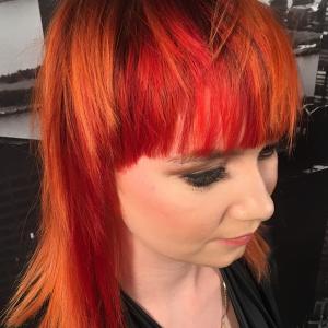 Hair Affair 2017: Sunset Edge Hair Colour
