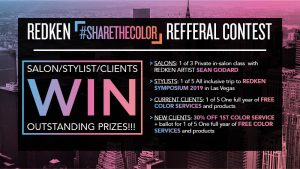 Redken Share the Color Promotion