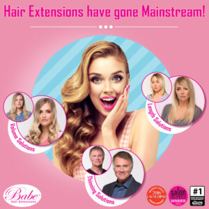 Hair Extensions Have Gone Mainstream!