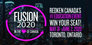 Redken Fusion 2020 Win Your Seat Contest