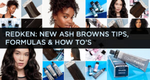 Redken New Ash Browns Tips, Formulas, and How To's