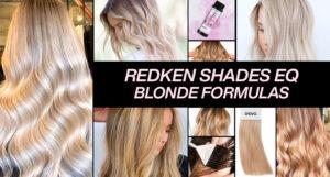 Redken Shades EQ Blonde Formulas